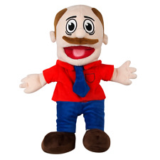 **UK** SML Mario Puppet Super Mario Logan - WITH CARRY BAG & TAG Jeffy's Dad