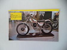 - RITAGLIO DI GIORNALE ANNO 1975 - MOTO OSSA 350 MAR M.A.R. TRIAL