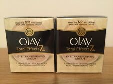 Olay Total Effects Eye Transforming Cream - 2 x 15ml - NEW