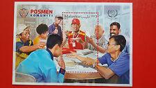2016 Malaysia Miniature Sheet - Posmen Komuniti
