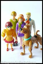 The Scooby Doo Gang Action 5 Figures Lot Daphne Fred, Shaggy, Thelma and Scooby