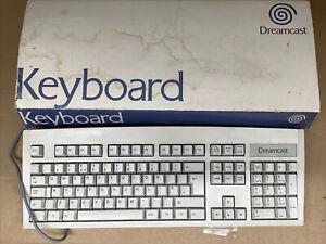 SEGA Dreamcast Keyboard with Box