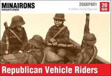 Minairons 1:72 Republican vehicle riders - 20mm Spanish Civil War