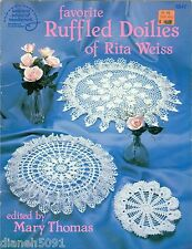 Ruffled Doilies Crochet Pattern Book 6 Doilie Patterns Rita Weiss Favorite
