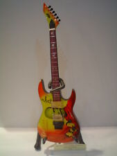 Miniature Guitar (24cm Tall) : METALLICA KIRK HAMMET ESP MUMMY