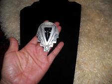 Rare handmade Original L.D. sterling modernist bolo tie ( no leather cord)