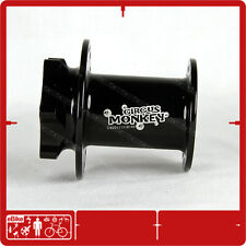 Circus Monkey HDW Lefty 1.0 28 H 6 Bolt Front Disc Hub Cannondale 130g CNC Black