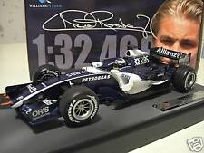 F1 WILLIAMS FW28 ROSBERG 2006 BAHRAIN 1/18 HOT WHEELS J2988 formule 1 miniature
