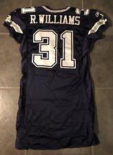 ac1cc850b Dallas Cowboys Game Worn Roy Williams Reebox Jersey 2004 Size 48 Prova Certi
