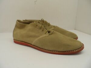 Timberland Men's Lace Up Suede/Nubuck Casual Shoe Beige Size 9M