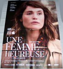 THE ESCAPE Gemma Arterton  Dominic Cooper Dominic Savage LARGE French POSTER
