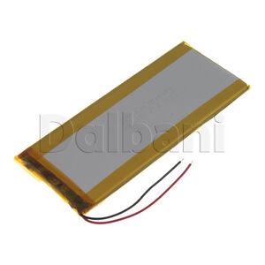 New 3.7V 3500mAh Internal Li-ion Polymer Built-in Battery 130x56x3mm 29-16-0932