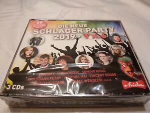 Die neue Schlager Party 2019. Vol.6, 3 Audio-CDs