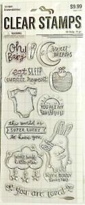 STAMPABILITIES CLEAR STAMPS ~OH BABY CODE 1614841