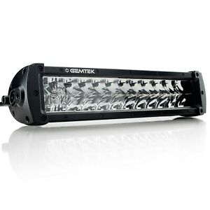 14 Inch LED Light Bar Double Row Osram Gemtek Phantom Series