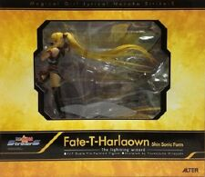Used Alter Nanoha StrikerS Fate T. Harlaown Shin Sonic Form Ver. 1:8 PVC