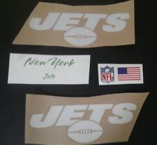 NFL New York Jets Helmet Decal Set