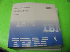 IBM OS/390 COLLECTION JUNE 1999 ONLINE LIBRARY OMNIBUS EDITION 9-DISC SET