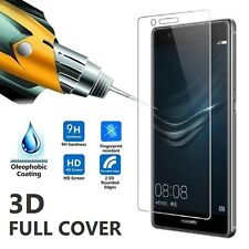 3D FULL COVER TEMPERED GLASS SCREEN PROTECTOR 9H FOR HUAWEI P9 EVA-L09 L19 L29