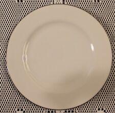 "Royal Doulton 10-1/2"" Dinner Plate Simply Platinum Pattern"