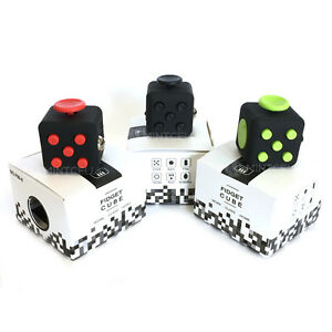 Fidget Toy Focus Box Attention Cube Anxiety Stress Relief Kids Adults Student