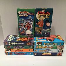 Scooby-Doo Lot Of 10 Different Children's Cartoons VHS Cassette Tapes Free S/H