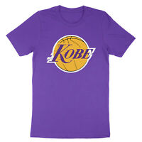 Los Angeles Kobe Bryant Lakers Black Mamba LA Customized Logo Unisex T-Shirt