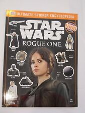 Star Wars Rogue One Ultimate Sticker Encyclopedia by DK 2016 Brand New