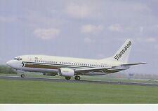 Postcard 1410 - Aircraft/Aviation Transavia Holland Boeing 737-3K2