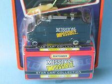 Matchbox star voiture mission impossible mercedes benz tv van noir jouet voiture modèle