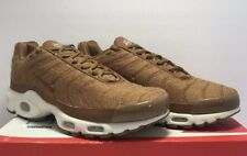 df372b8cd28fcb Nike Mens Size 8 Air Max Plus Quilted Ale Brown Athletic Shoes 806262-200