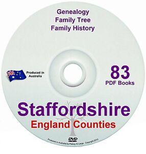Family History Tree Genealogy Staffordshire