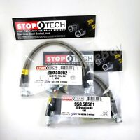 Stoptech Street Brake Pads Front /& Rear Set for 06-10 Jeep Grand Cherokee SRT8