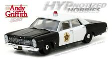 GREENLIGHT 1:64 THE ANDY GRIFFITH SHOW 1967 FORD CUSTOM POLICE DIE-CAST 44760-B
