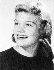 DYAN CANNON 1953 WEST High School Yearbook SEATTLE, WA  Cary Grant