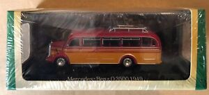 "Die Cast Bus "" Mercedes-Benz Or 3500 - 1949 "" Scale 1/72 Atlas"