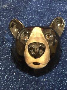 Black Bear Vase Wall Vase Collectable Decorative Pot By Quail Code Q779