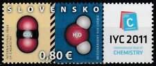 Slowakije postfris 2011 MNH 652 - Jaar van de Chemie
