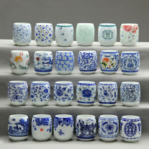 200ml Jingdezhen blue-and-white porcelain tea cup Japanese style master cup new