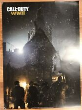 "Call of Duty WW2 Zombies Poster GameStop Exclusive 2017 19 1/2"" X 27"""