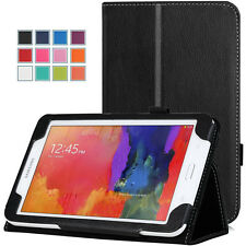 Moko Samsung Galaxy Tab 3 Lite 7 Inch Cover Case Stand -Slim Folio - Black