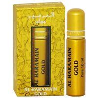 Or 10ml Par Al Haramain Citron Fleur de Souci Cuir Patchouli Parfum Huile /