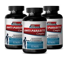 Eliminate Parasite - Anti Parasite Complex 1485mg - Colon Cleanse Detox Pills 3B