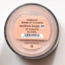Bare Escentuals Medium Beige Bare Minerals Original Foundation N20 8 grams/0.28