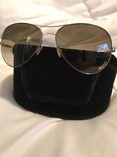Women's Marc By Marc Jacobs Gold Rim Aviator Sunglasses