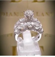 Wedding Engagement Ring For Christmas Royal Designer 925 Sterling Silver