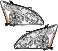 New Halogen Headlights Headlamps Pair Set for Lexus RX350 RX330 Japan Built