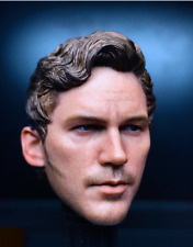 "1/6 Male Head Model Star-Lord Head Carved Sculpt Toy 2.0 Fit 12"" Action Figure"