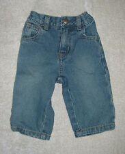 ECKO UNLTD Unisex Denim Jeans Rhino Emroidered Back Pockets  6 Months