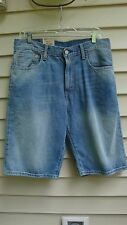 Levis 569 Shorts Mens Denim Loose Straight Below Waist Below Knee sz 31 $45 NWT